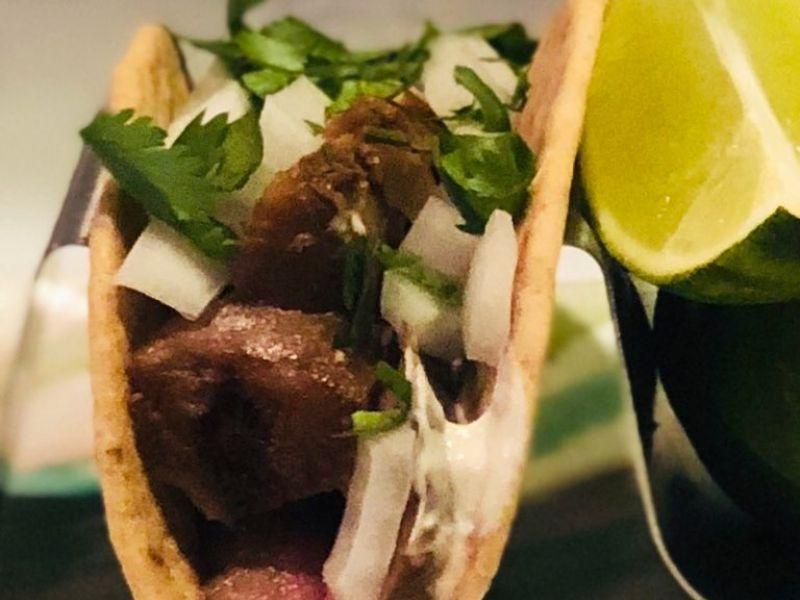 Sous Vide Asian Beef Tacos